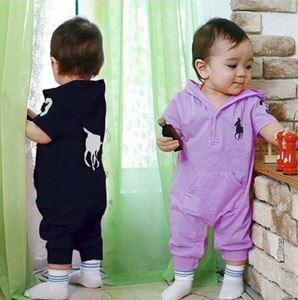 Picture of Fashionable Short Sleeve Polo Unisex Romper