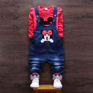 Picture of Girl Overall Set