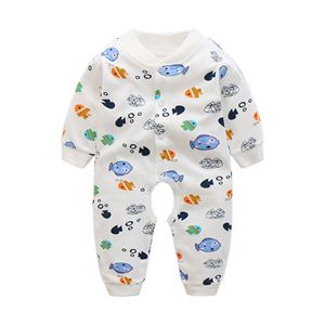 Picture of Adorable Cartoon Design Unisex Baby Romper