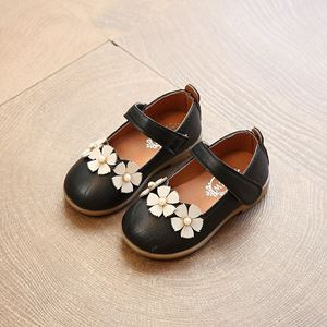 Picture of Elegant Flower Pink Sandal Shoe for Girl Children