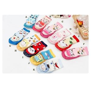 Picture of Assorted 3D Design Cartoon Sock for Baby Infant Toddler