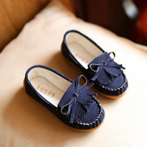 Picture of Kids Baby Girls Tassel Flat Loafers Casual Shoes ( Small)