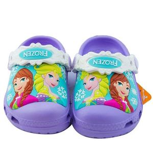 Picture of Purple Frozen Children Slippers Kids Clogs Shoes