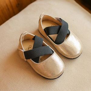 Picture of Adorable Gold Girl Breathable Sandal Shoes
