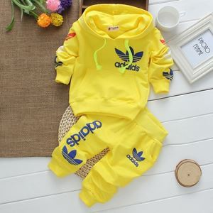Picture of Adidas Long Sleeve Tee and Pants Clothing Set