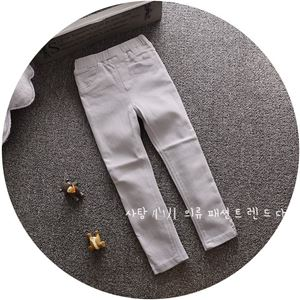 Picture of Stylish Jeans Long Pants Legging for Kids  (Grey)