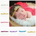Picture of Delightful Headband with Crown for Baby Girl Toddler