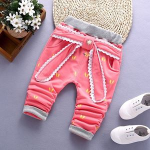 Picture of Adorable Big Ribbon Patterned Legging for Girl