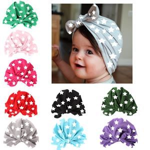 Picture of Fashion Star Design with Ribbon Baby Girl Toddler Hat