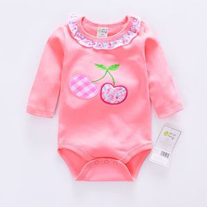 Picture of Adorable Cotton Cherry Baby Girl Romper