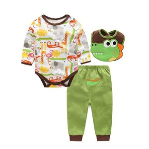 Picture of Adorable Cute Crocodile Pattern Baby Romper 3IN1