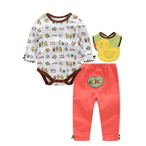 Picture of Adorable Little Duck Unisex Baby Romper 3IN1