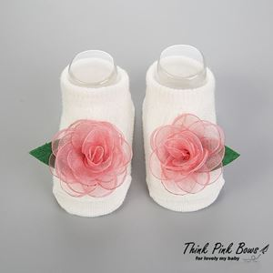 Picture of Korean Flower Baby Headband With Socks