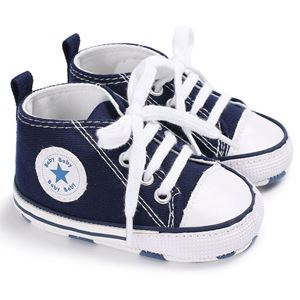 Picture of Pre Walker Toddler Anti-skid Soft Canvas Sneakers Shoes