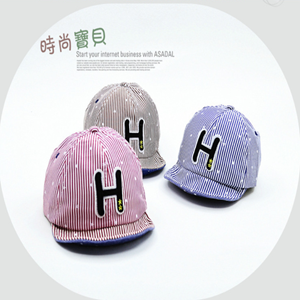 Picture of Adorable H Print Design Hat for Baby Toddler Kids