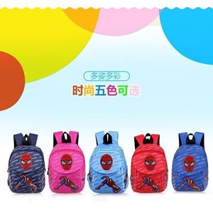 Picture of Cartoon Spiderman Anti Lost Safety Harness Backpack