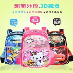 Picture of Adorable 3D Cartoon Backpack for Kids Children