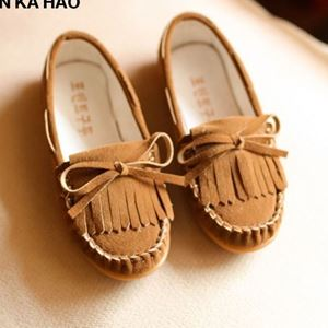 Picture of Kids Baby Girls Tassel Flat Loafers Casual Shoes (Big)