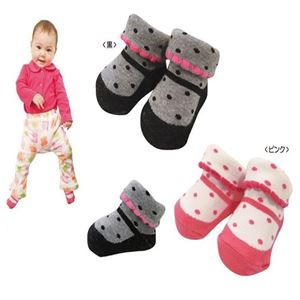 Picture of Pretty 2 Colour Per Pack Baby Infant Girl Sock
