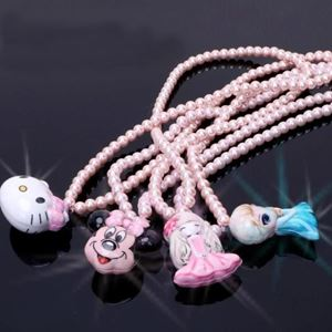 Picture of Adorable Cartoon Necklace with lighting for Girls