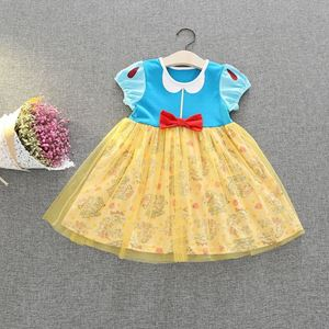 Picture of Sweet Princess Snow White Soft Tulle Cotton Girls  Dress