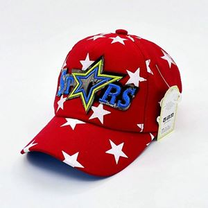 Picture of Korean Style Stars Unisex Kids Baseball Cap