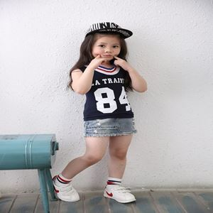 Picture of Korea Stylist Toddler Girls Casual Sleeveless Shirt