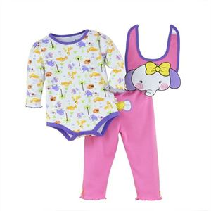 Picture of Adorable Cute Little Elephant Baby Romper 3IN1