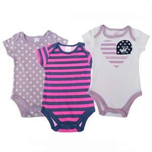Picture of Polo Club Short Sleeve Baby Romper 3pcs Set