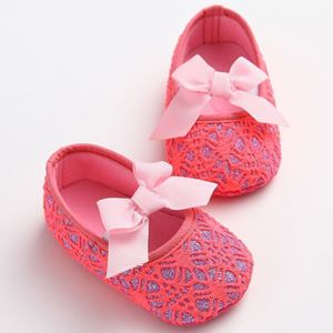 Picture of Shine Lace Anti-Slip Baby Infant Toddler Pre-walker Shoes