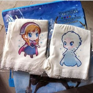 Picture of Elastic and Soft Cotton Anna & Elsa Panties