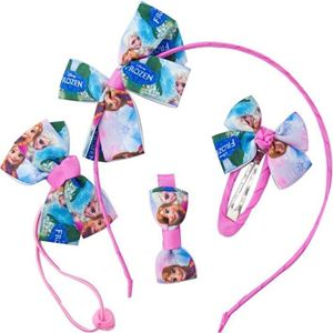 Picture of Delightful Frozen Hair Clip & Hairband Set for Kids Girls
