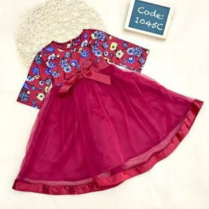 Picture of Flora Muslimah Jubah Lace Dress for Girl