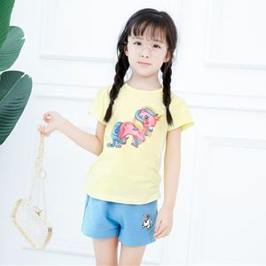 Picture of Unicorn Short Sleeve For Girl Clothing Set
