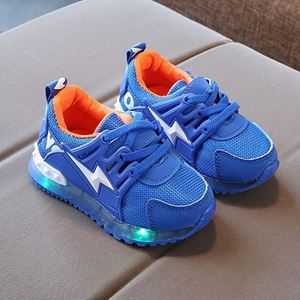Picture of Cool Sports Sporty LED Light Velcro Shoes For Kids