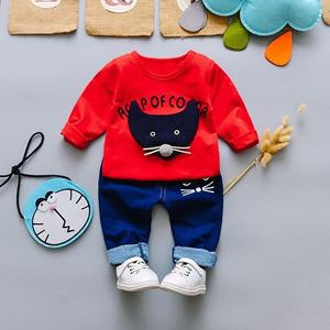 Picture of Rat Boy Longsleeve Shirt and Pant Two-Piece Set
