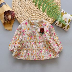 Picture of Design Flora Long Sleeved Blouse for Girls