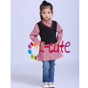 Picture of L-Cute Long Sleeve Blouse with Jeans Pants Set For Girl (8-13y)