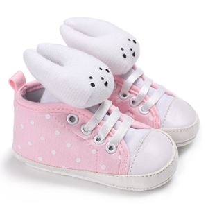 Picture of Baby Toddler Infant 3D Rabbit Soft Anti-slip Prewalker