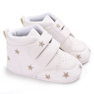 Picture of Baby Toddler Infant Star Gold Soft Anti-slip Prewalker
