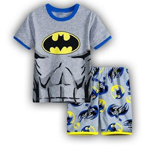 Picture of Cartoon Batman Short Sleeve Casual Wear Two-Pieces Set