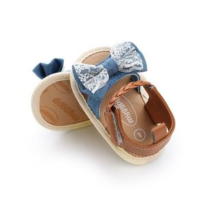 Picture of Sandals Baby Shoes Infant Denim Soft Sole Prewalker