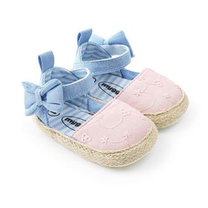 Picture of Baby Infant Soft Sole Bowknot Prewalker Shoes