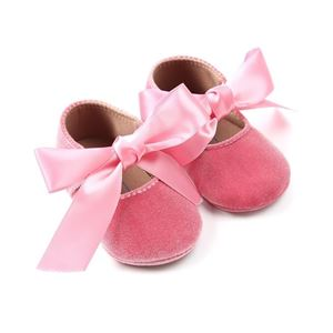 Picture of Ribbon Baby Infant Soft Sole Prewalker Shoes