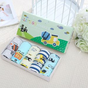 Picture of Korean Children Design Hyakes Cotton Panties Gift Box Set