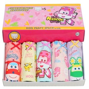 Picture of Korean Children Design SuperWings  Cotton Panties Gift Box Set