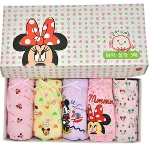 Picture of Korean Children Design Minnie Cotton Panties Gift Box Set