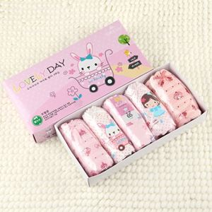 Picture of Korean Children Design Lovely Rabbit Cotton Panties Gift Box Set