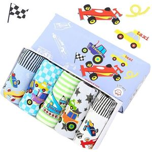Picture of Korean Children Design Taxi Cotton Panties Gift Box Set