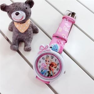 Picture of Frozen&Hello Kitty Cartoon Belt Watch for Girls